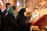 Mother Photina at the cleros