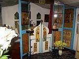 The garden chapel iconostas