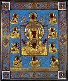 The miraculous Kursk Root icon of Our Lady of the Sign