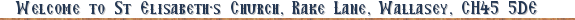 Welcome to our Church!